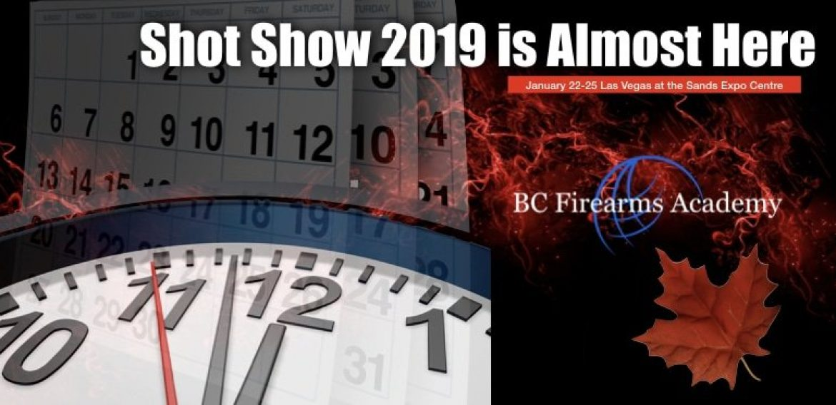 Shot Show 2019 is Almost Here