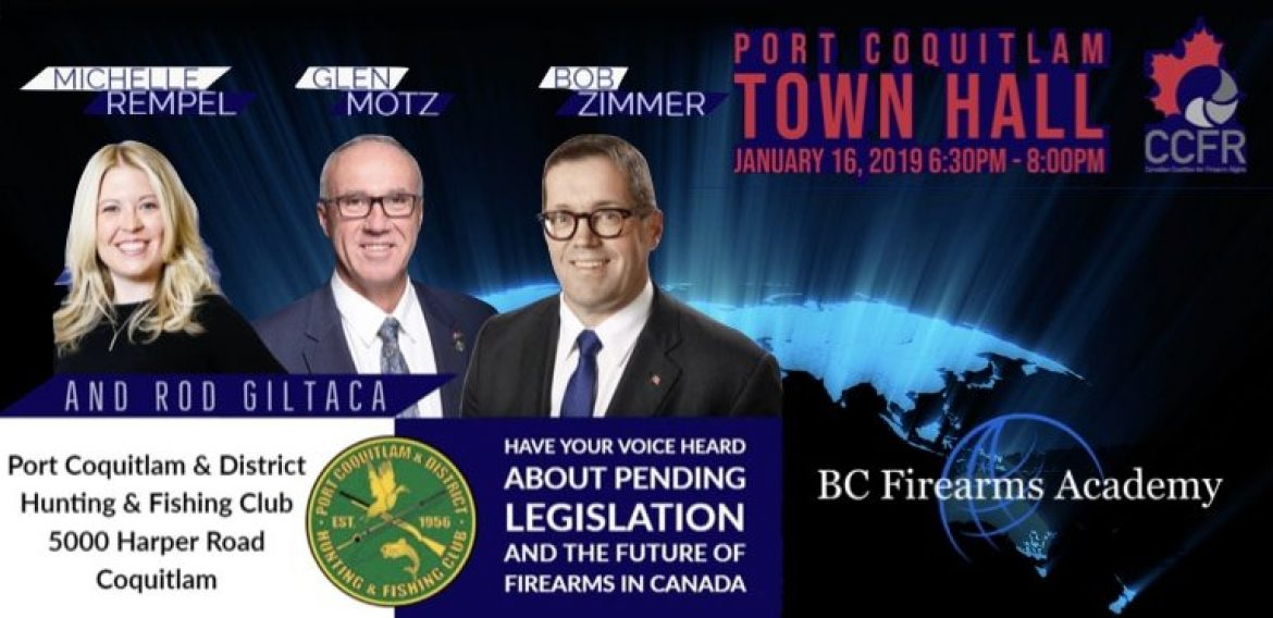 Open Invitation to a Townhall on the Future of Firearms Legislation in Coquitlam