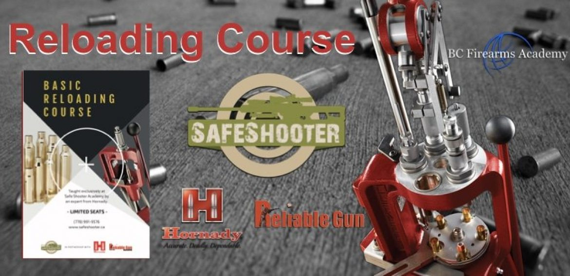 Basic Reloading Course in the Lower Mainland April 2019