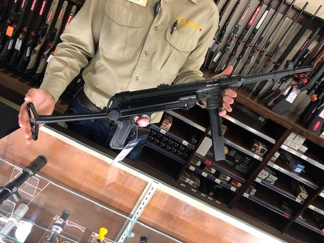 GSG-MP40 .22LR In stock at Cabela's Canada March 2019