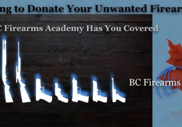 Donate Your Unwanted Firearms to BC Firearms Academy