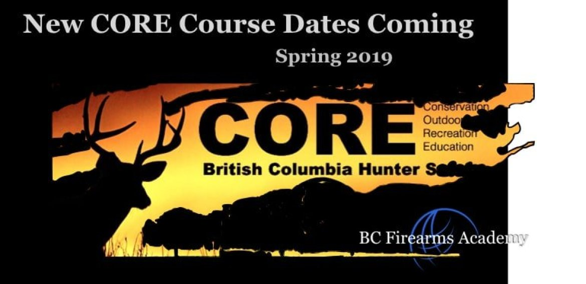 NEW CORE HUNTER EDUCATION COURSES COMING Spring 2019