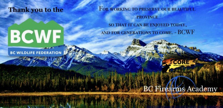 BCWF AGM May 8-11 2019 in Ft. St.John