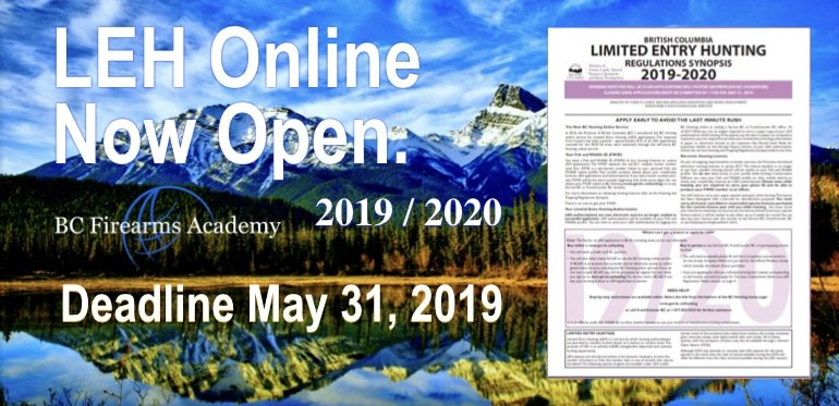 LEH Online Applications Are Now Open April 2019