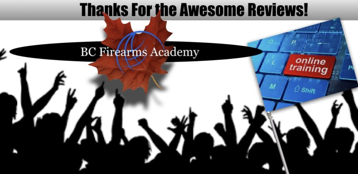 People are LOVING BC Firearms Academy's Free Online Study Guides!