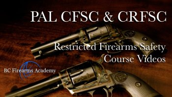 Free Firearms Safety Course Online Study Guide and PAL Course Manuals.