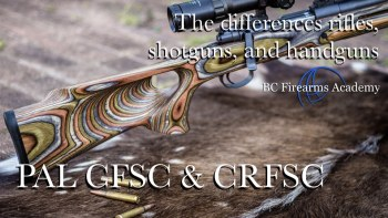 The Differences Between Rifles, Shotguns, and Handguns