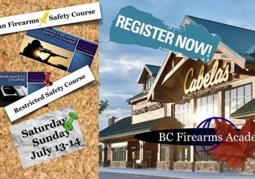 Register Now For CFSC at Cabela's Abbotsford July 13-14
