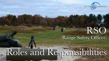 RSO (Range Safety Officer) Course for Club Shoots and Open Range Events Canada