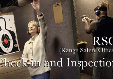 Range Check-in and Inspection Procedures RSO (Range Safety Officer)