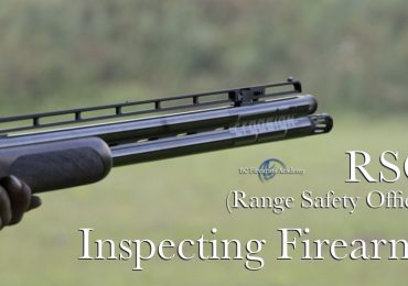 Inspecting the Firearms RSO (Range Safety Officer)