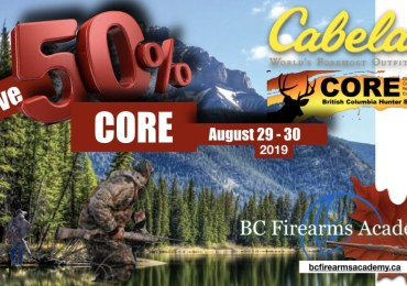 50% Off BCFA's Next CORE Course at Cabela's Abbotsford!