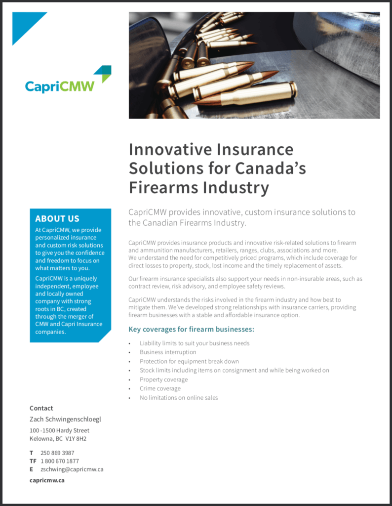 CapriCMW provides insurance products and innovative risk-related solutions