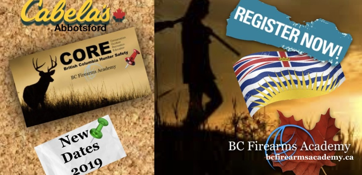 New Convenient Dates to Take the CORE with BC Firearms Academy