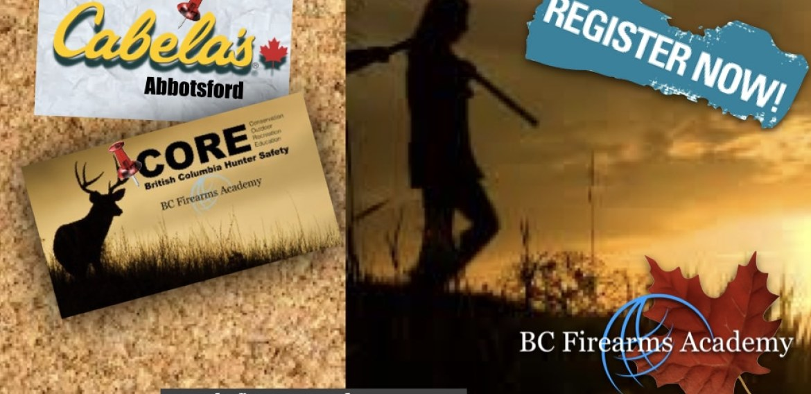 Join BC Firearms Academy for our Fall 2019 CORE Courses