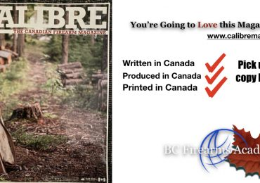 Get Your FREE Copy of Calibre – The Canadian Firearm Magazine