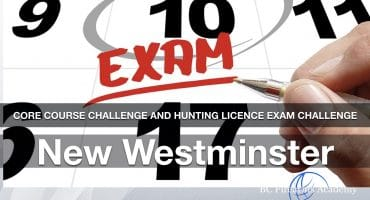 BC Firearms Academy PAL & CORE courses firearms licencing near me hunting challenge