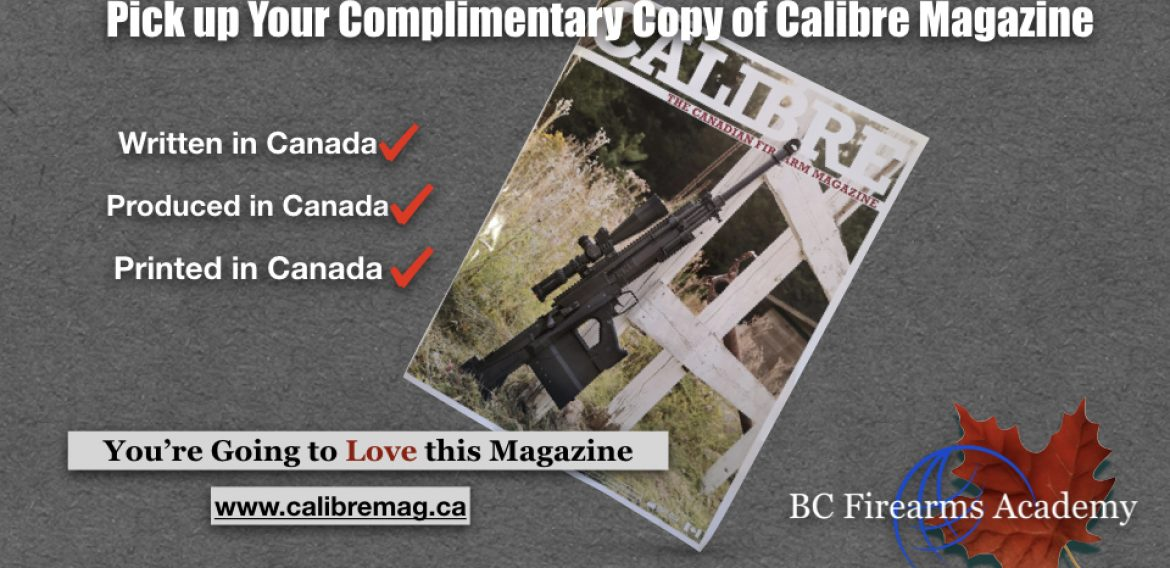 Come and Get It – Your Complimentary Issue of Calibre Magazine