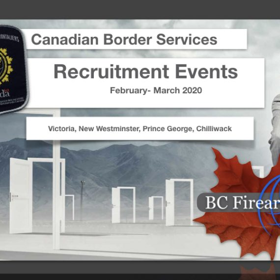 CBSA Recruiting Events in B.C.