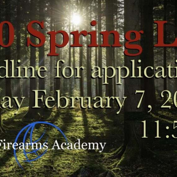 Spring 2020 LEH Hunting Draw Open Deadline is Friday February 7, 2020