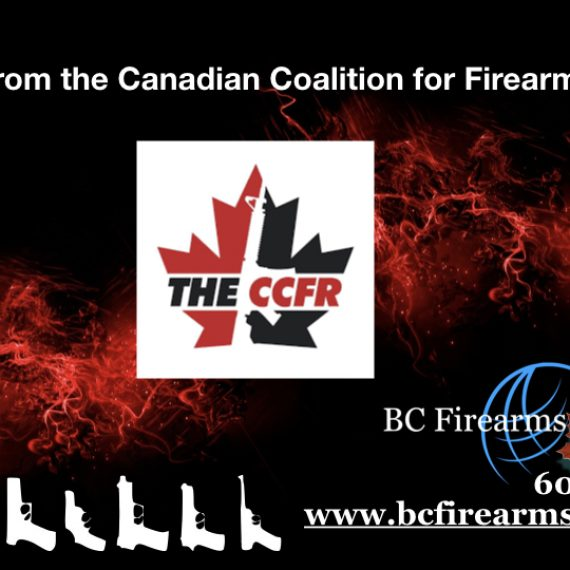 A Word from the Canadian Coalition for Firearms Rights