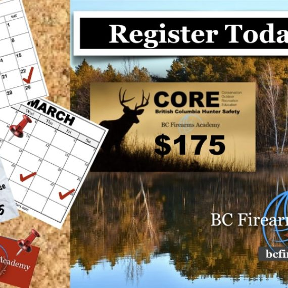 CORE Hunter Education $175 with BC Firearms Academy