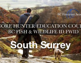 CORE Hunter Ed (FWID) South Surrey Sat April 24 – Sun April 25