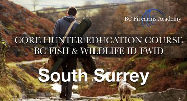 CORE Hunter Education Fish & Wildlife ID (FWID) Surrey Sat-Sun Mar 28-29