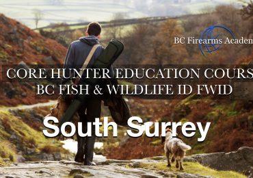 CORE Hunter Ed (FWID) SOUTH SURREY Sat-Sun May 22-23