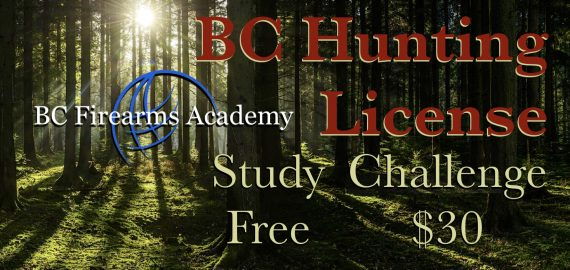 How To Get a BC Hunting License First Study Free Second Challenge for $30