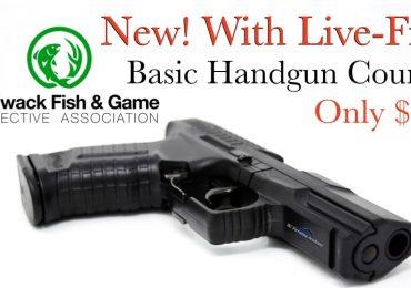 CFGPA New 2020 Shooters Basic Handgun Familiarization Course