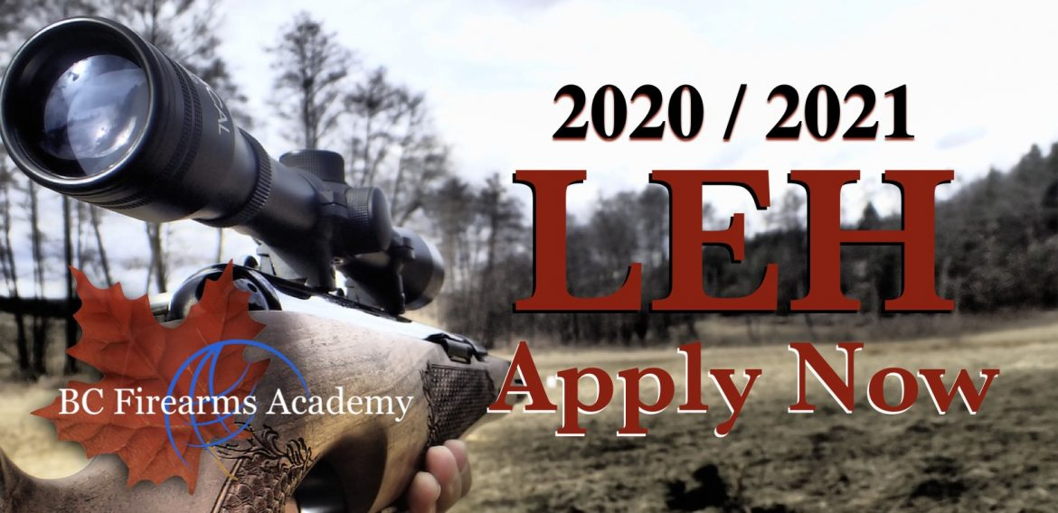 The 2020/2021 BC Limited Entry Hunting Is Open For Applications!