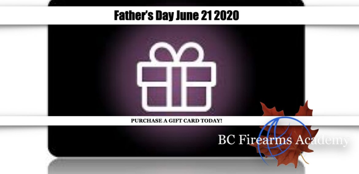 Father's Day is June 21 2020