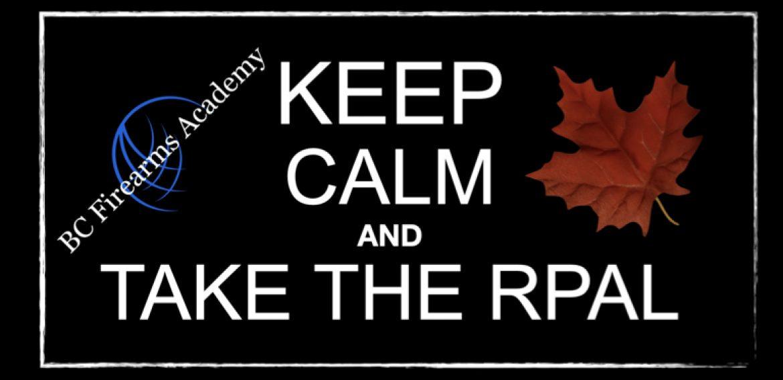 Keep Calm and Take the RPAL.