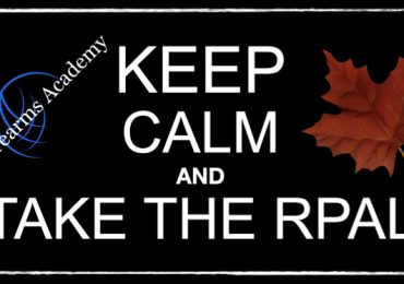 Keep Calm and Take the RPAL.