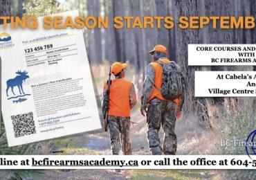 Be Prepared for Hunting Season!