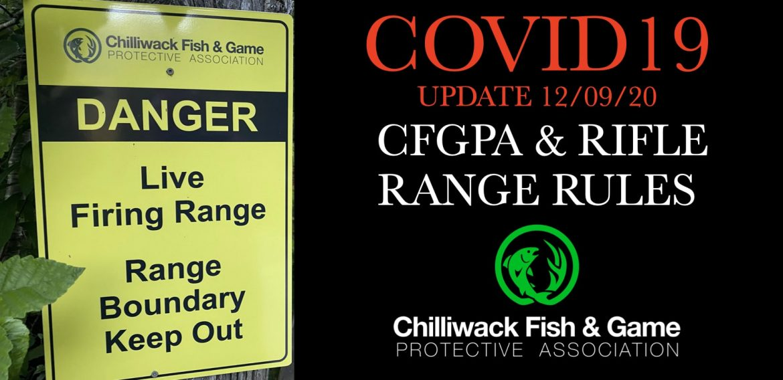 CFGPA & RIFLE RANGE RULES COVID19 UPDATE