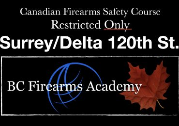RESTRICTED UPGRADE CRFSC (RPAL) South Surrey Friday Nov 20