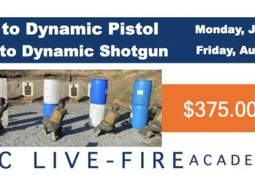 Pistol and Shotgun Classes This Summer