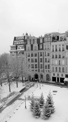 La Place Dauphine où est situé le Cabinet BCG&A