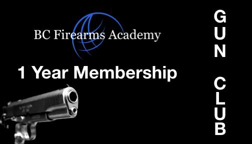BCFA Gun Club Number of Years 1