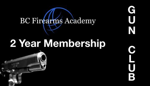 BCFA Gun Club Number of Years 2
