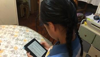 Miu Miu 九歲生日的禮物 - Kindle paper white