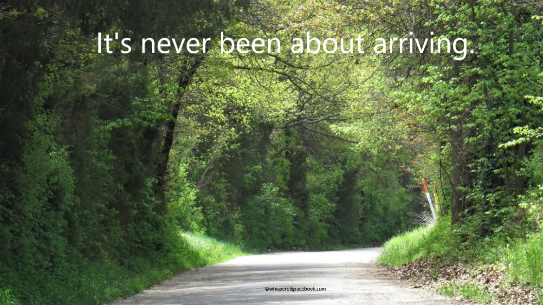 Not arriving