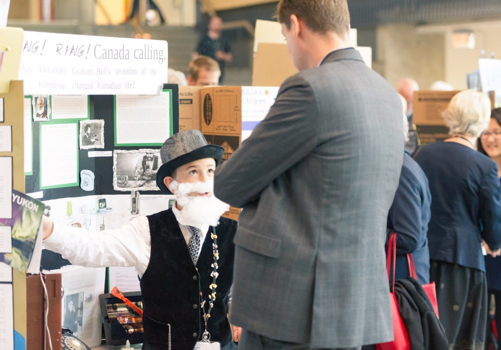2016 BC Provincial Heritage Fair – Student Presentations & Interactions