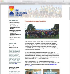 Sept 2016 Newsletter
