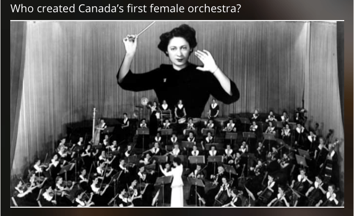 What do You Know about Canada's HERstory?