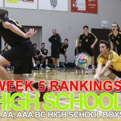 Week 5 Rankings