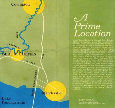 Beau Chene Vintage Brochure