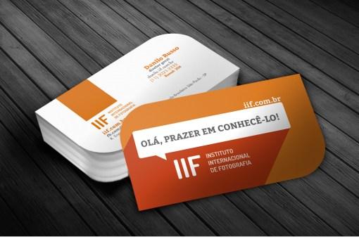 Cartão de Visitas – IIF Instituto Internacional de Fotografia